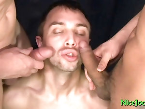 Gay big time rush porn movie Boys Feet Drenched In Cum!