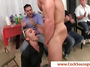 Getting his first gay cock part1