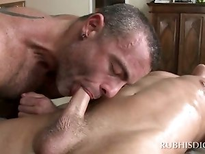 Uncut sleeping cock movie and tit cumshot gay twink first time Muscle Top