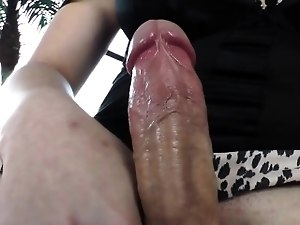TS Hottie Acadia Veneer Having Fun With A Toy